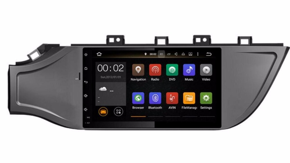 Octa Core RAM 4G Android Fit KIA k2 Rio 2017 Car DVD Player Navigation GPS Radio