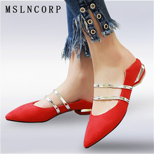 цены Plus Size 34-46 Fashion Comfy women flats shoes Sexy Pointed toe low heels Elegant Slip On Mary Jane Casual Shoes Zapatos Mujer