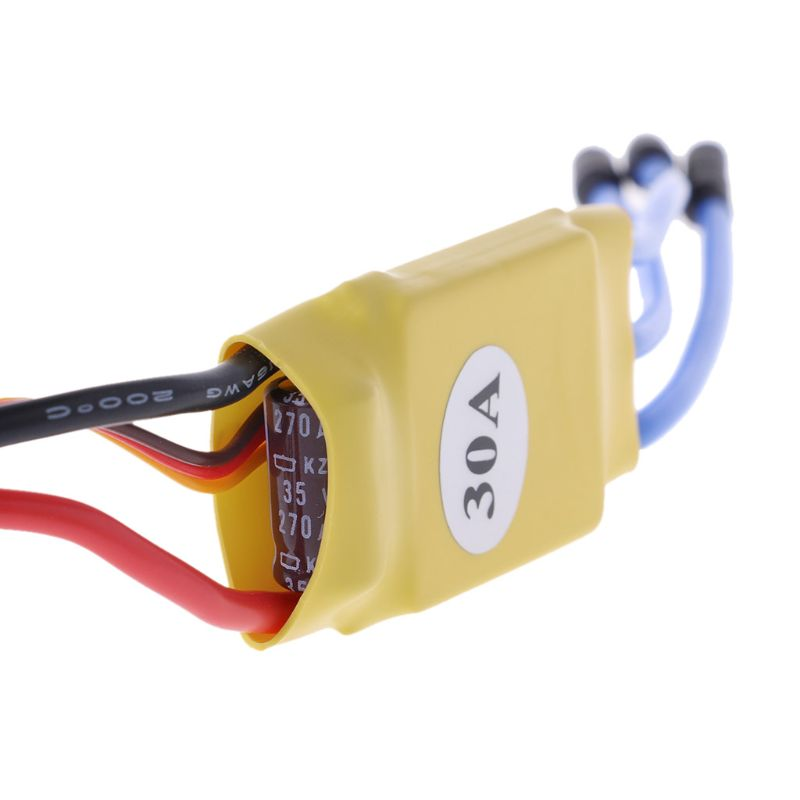 XXD 30A RC ESC Brushless Motor Speed Controller For T-rex 450 V2 Helicopter I403