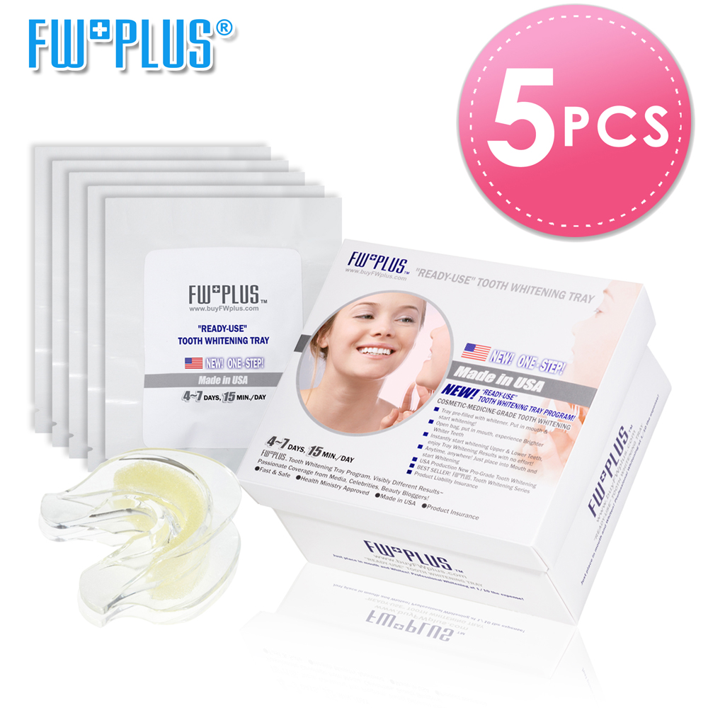Teeth Whitening Tray Cosmetics Dentistry Grade Tooth Whitening Program ONE STEP PUT IN MOUTH & WHITEN Made in USA FWPLUS rajat singh appliance in pediatric dentistry