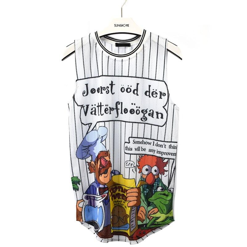 New Men Women 3d Tank Tops Print Cartoon Vest Sleeveless Tee