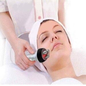 Image 3 - Dreiseitige Radio Frequenz Schönheit Gesichts Maschine Für Haut Verjüngung Falten Entfernen Haut Anzugs Anti Aging Hautpflege Gerät