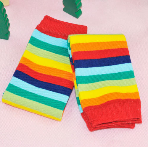 Newborn-Toddler-Kids-Boy-Girl-Winter-Leg-Warmer-Tights-Cute-Rainbow-Stripe-3