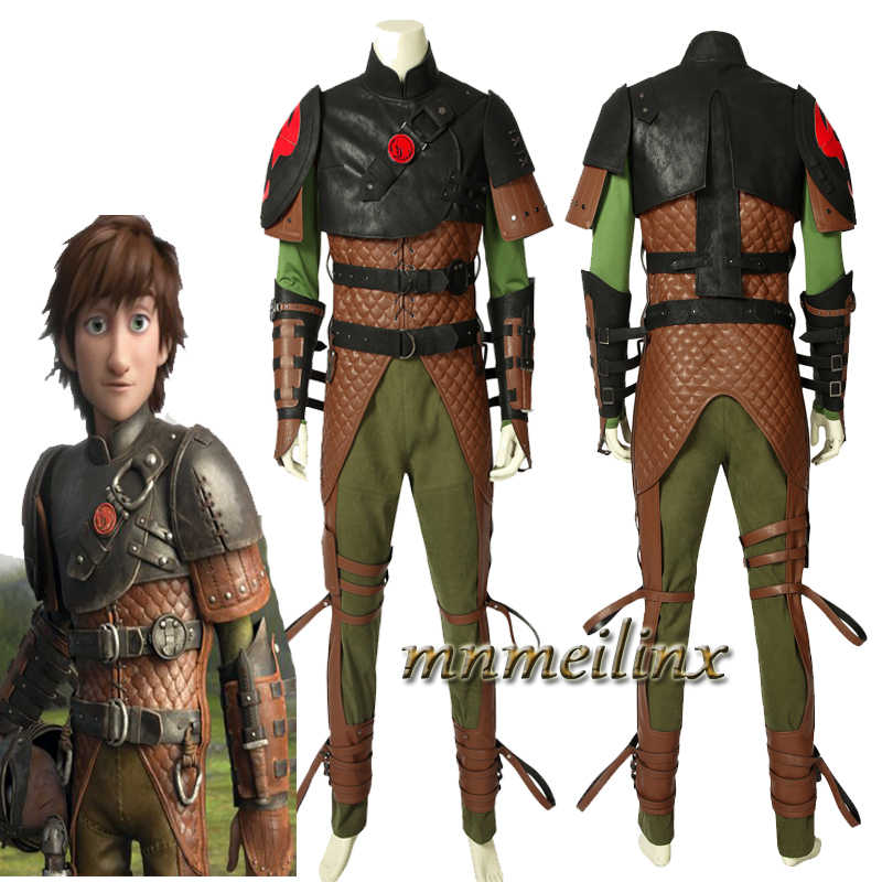 Super Viking How To Train Your Dragon 2 Hiccup Cosplay Costume Halloween Chrismas Customize Suit Men S Outfit Full Set Any Size Movie Tv Costumes Aliexpress