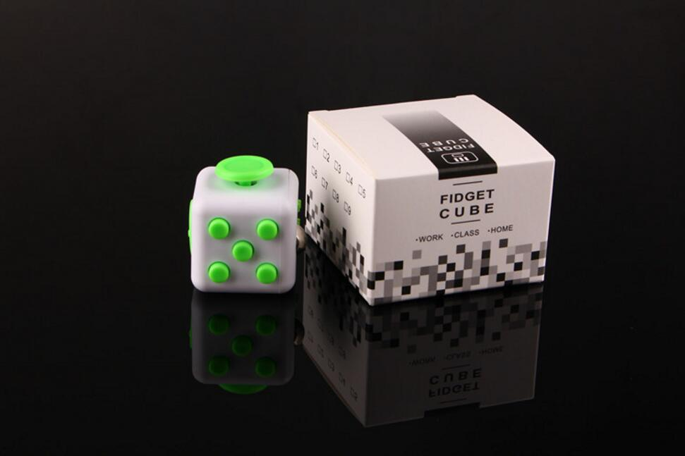 10pcs Stress Cube for Fidgeters Relieve Stress Anxiety Boredom all at your finger tips fidget cube