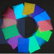 13 Color photoluminescent powder phosphor Pigment for DIY decorationAcrylic Paint Print 5g 13pieces set Glow in