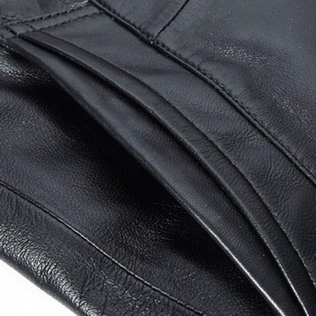 Marka luksusowe prawdziwej skóry owczej prawdziwe skórzane połowy długie kurtki mężczyźni 2019 projekt czarny Slim Fit Plus rozmiar 4XL skóra wykop kurtka