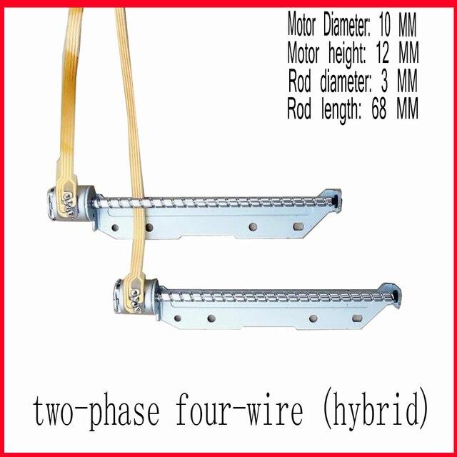 5 Stücke DC 5 V Mini Slider Schraube 10mm Schrittmotor 2 phasen 4 ...