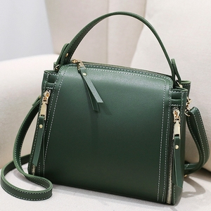 Image 1 - Small Mini Bucket Women Messenger Bags With Long Strap Designer Crossbody Bags Green Shoulder Bags Female Fashion Korean 2018