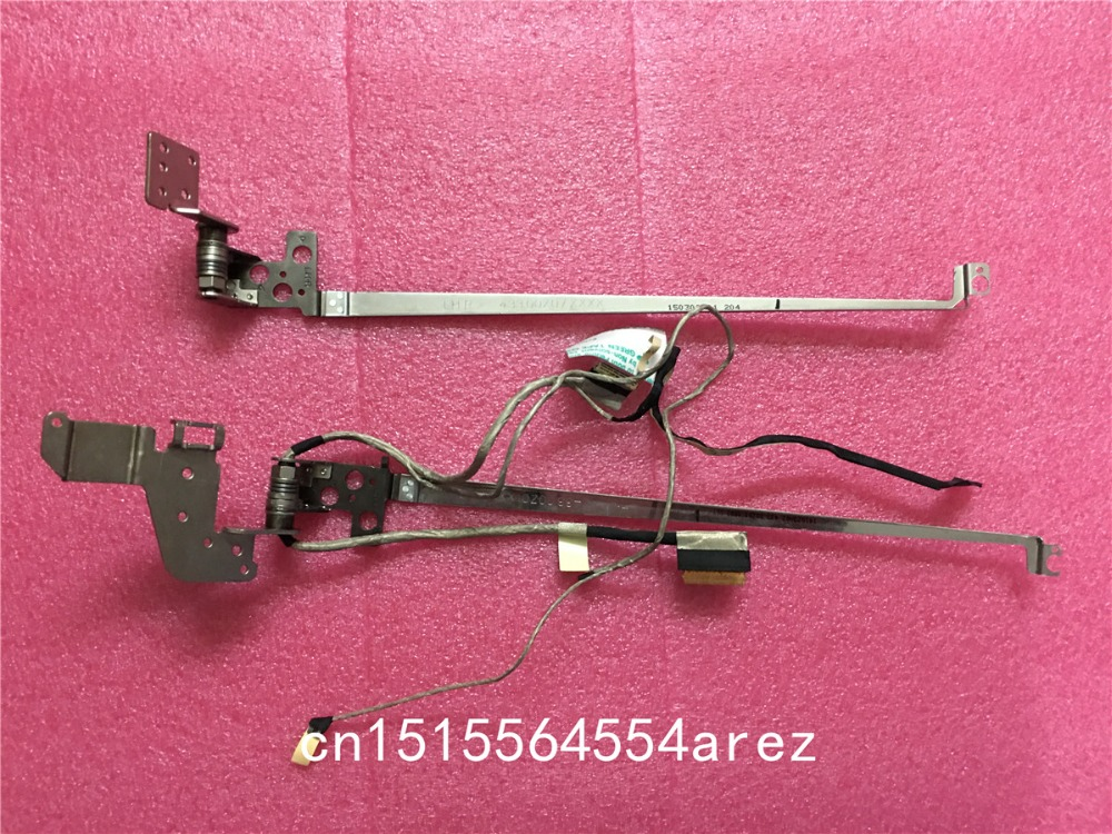 New Original laptop Lenovo FLEX2-15 FLEX 2 15 LCD Screen Axis L and R Shaft with Screen cable 5H50F76792 460.00Z0H.0003 REV.A03 original laptop display cable new for samsung rc710 ba39 01019a notebook vga cable screen lcd lvds cable flex