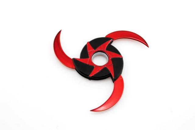 Naruto Shrinkable Metal Shuriken Spinner Fidget