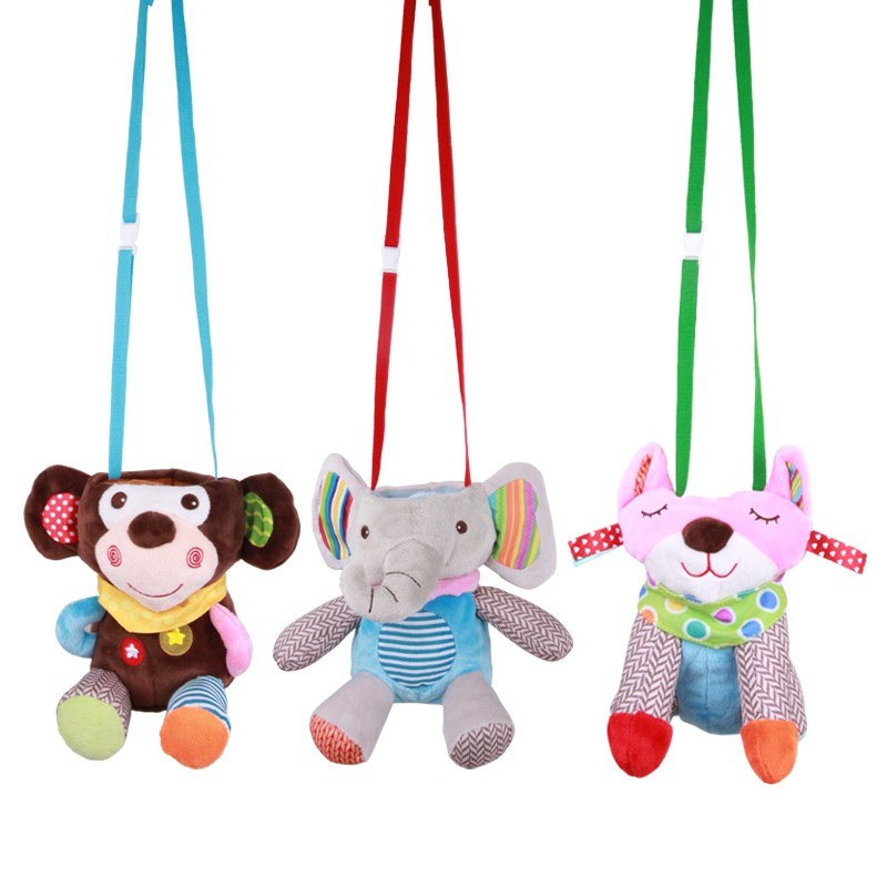 Cute Baby Feeding Bottle Plush Pouch Covers Nursing Keep Warm Holders Series