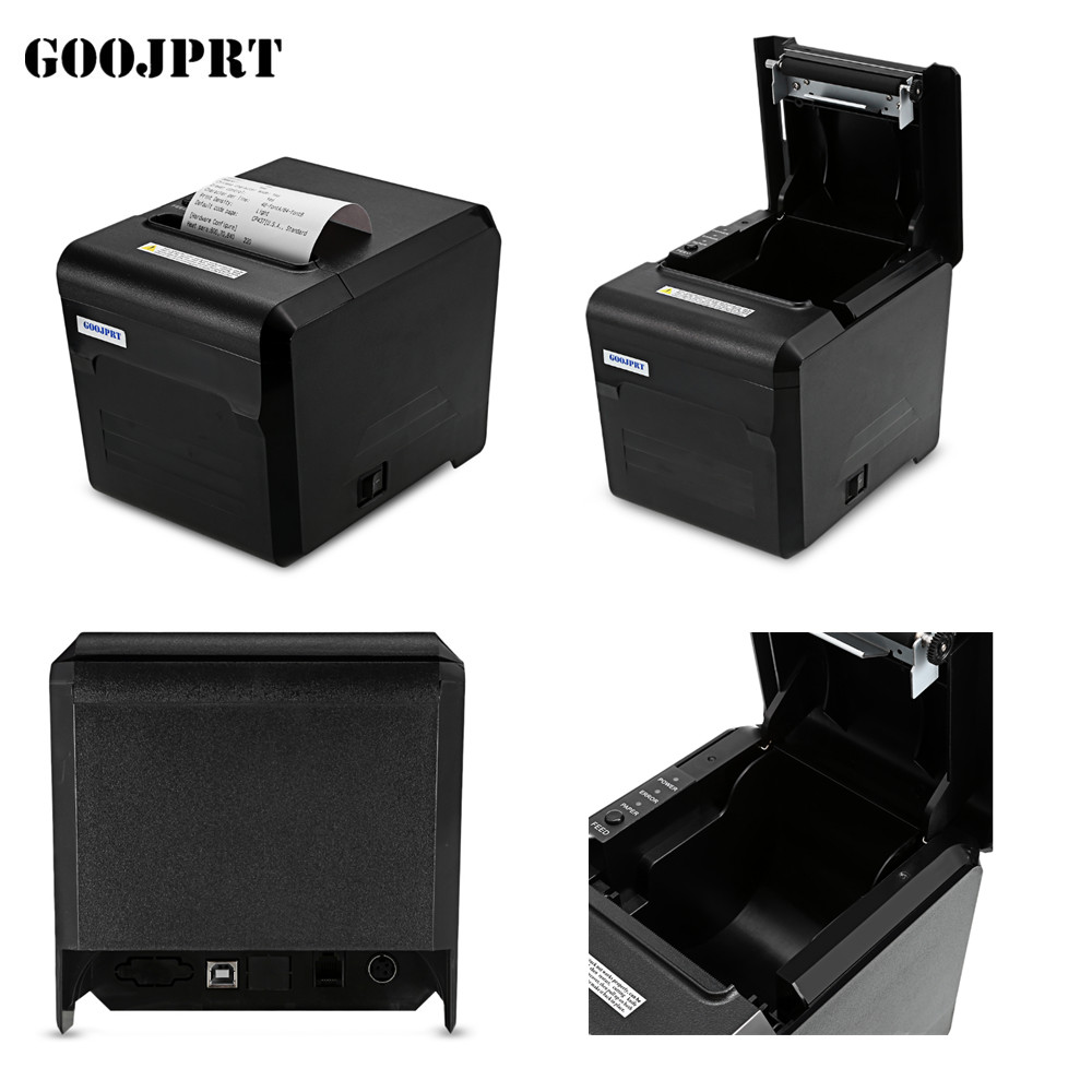 Free ship Honeprt Wifi LAN POS Thermal receipt printer with auto cutter 300mm/s printing mqtt could printing solution gprs 2 inch thermal receipt printer with usb lan port support win10 and linux auto cutter