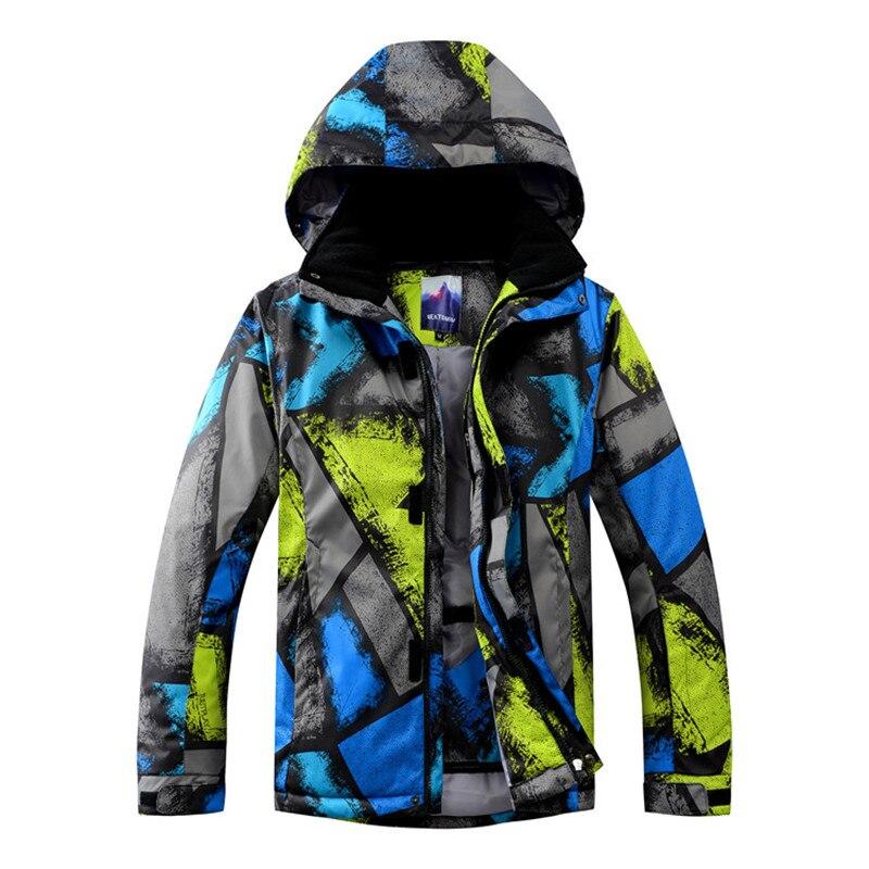 Véritable nouvelle veste de snowboard pour hommes tenue de ville veste de Ski Ski à capuche manteaux coupe-vent imperméable garder au chaud vestes