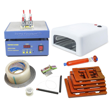 LCD Repair Kit Heater separator LY Youyue 946D 36W UV lamp 5pcs Removal Phone Repair Machine