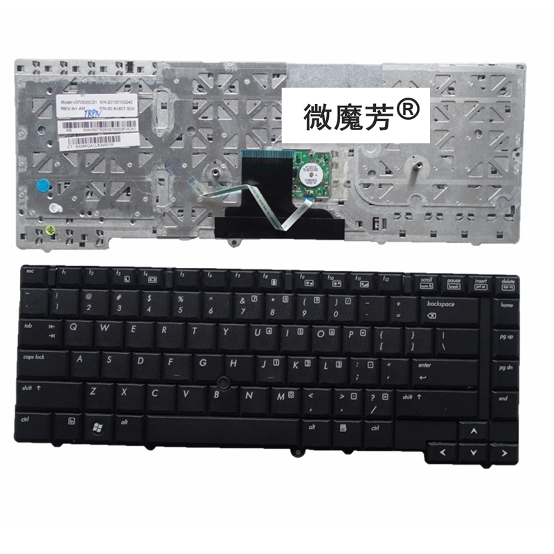 English keyboard FOR HP 8530 8530W 8530P US image
