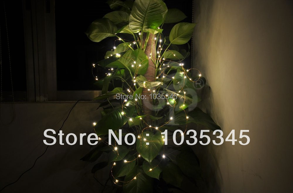 copper wire led Picture - More Detailed Picture about 33Ft 100LEDS ...