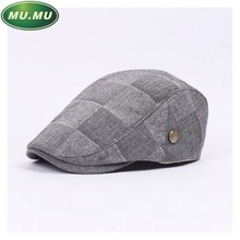 The new autumn and winter fashion casual Men Women beret hat high quality cotton quality clothing