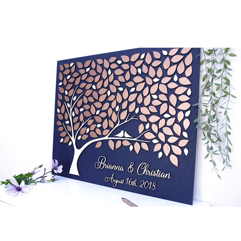 Personalized Rustic Wedding Guest Book ,Custom 3D Guest Book Tree,Wedding Couple Gifts,Unique Guestbooks livre dor de mariagePersonalized Rustic Wedding Guest Book ,Custom 3D Guest Book Tree,Wedding Couple Gifts,Unique Guestbooks livre dor de mariage