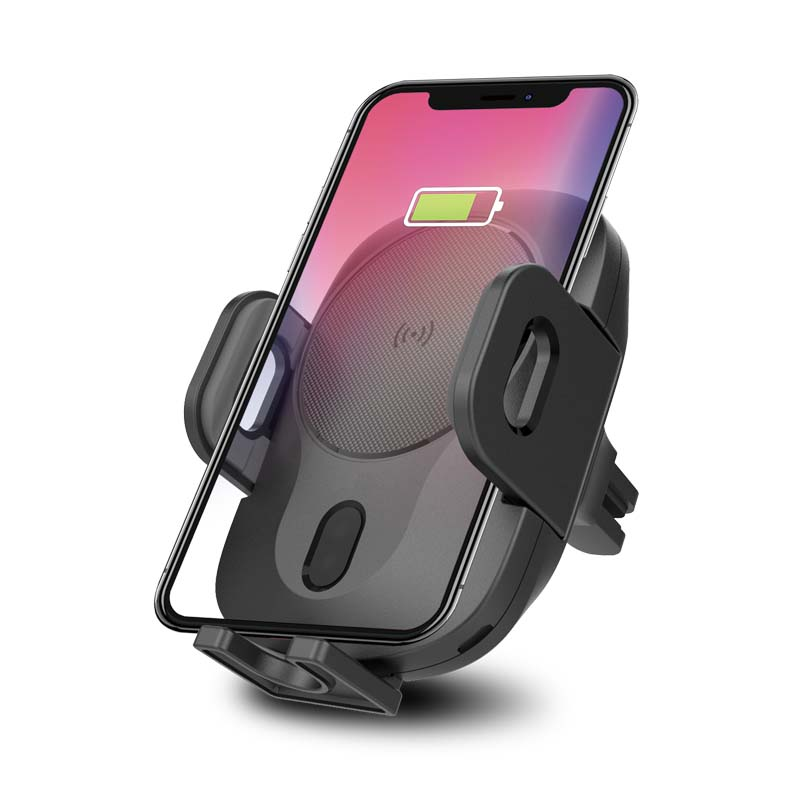 Qi Car Wireless Charger For Samsung S9 iPhone In addition to Mobile Phone Holder 10 w Quick Wireless Car Charger phone holder