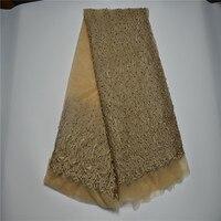 РН па! Высокое качество Африканский швейцарская Вуаль Сетка тюль, кружево для женщин платье, Нигерии гипюр чистая кружевной ткани 5 ярдов/се