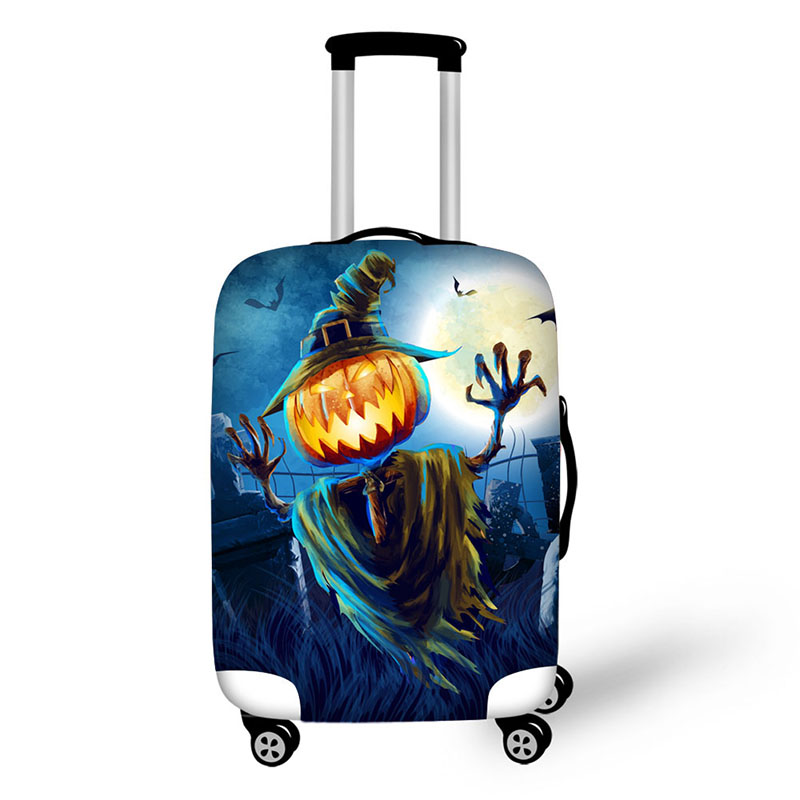 travel luggage suitcase halloween protective cover. Black Bedroom Furniture Sets. Home Design Ideas