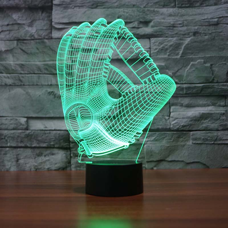 Glove Night Light Pediatrics 7 Colors Changing Touch Button Led Table Lamps Night  Lights For Childrenu0027s Bedrooms In LED Night Lights From Lights U0026 Lighting  ...