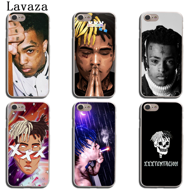 Lavaza Rap Singer XXXTentacion MC Phone Case for Apple iPhone XR XS Max X 8 7 6 6S Plus 5 5S SE 5C 4S 10 Cover 7Plus 8Plus Cases