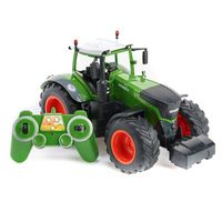 2.4Ghz 1/16 RC Farm Tractor Remote Control RC Construction Dump Truck Model Toys Cars for Children Boy Gift