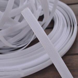 """Image 2 - 50Yds Polyester plastik ile yüksek yoğunluklu kemikli emzirme örtüsü iç çamaşırı aksesuarları düğün elbisesi telaş 5/16 """"(8mm) genişlik"""