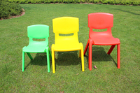 Essential Hold 100KG 6 Sizes Sitting Height Eco Friendly PP Kindergarten Chairs Safety Thicken Small Armchair