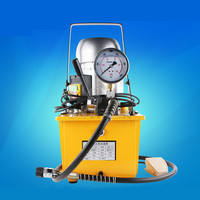 Hydraulic electric pump solenoid valve hydraulic pump station hydraulic press electric foot pedal wrench ultra high pressure oil