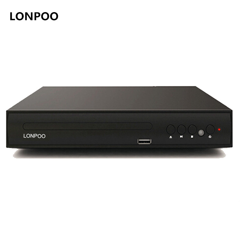 lonpoo new cheap mini plastic body dvd player usb scart output dvd player multi language tv dvd. Black Bedroom Furniture Sets. Home Design Ideas