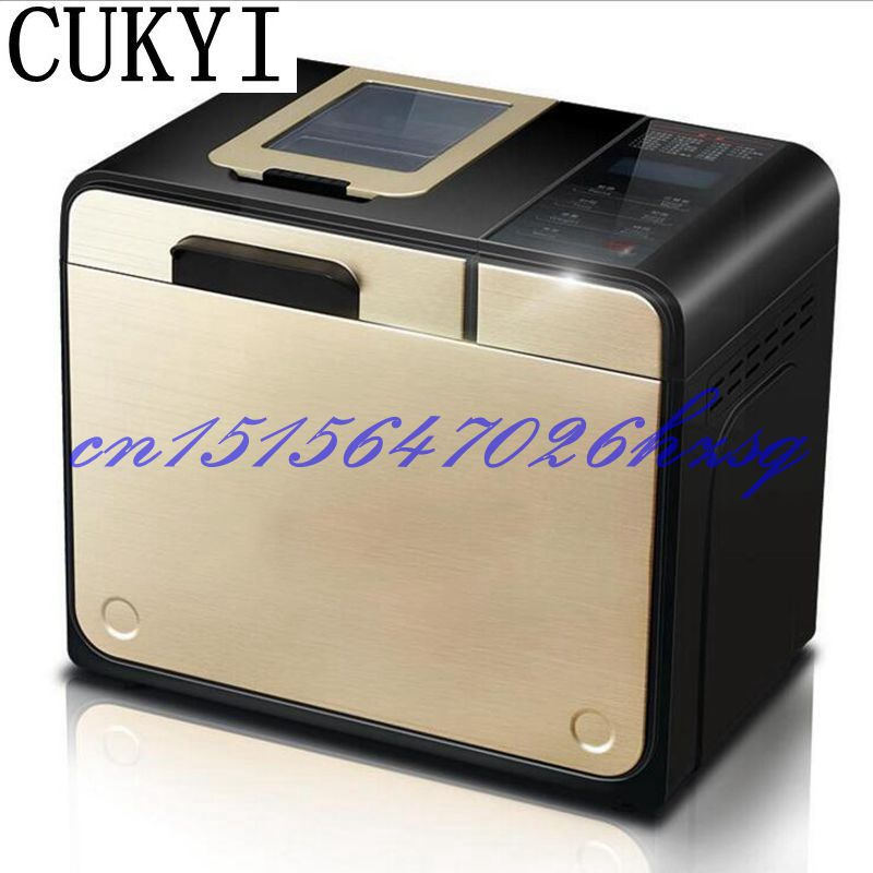 CUKYI 100W household automatic multifunction bread machine Sprinkle fruit material automatically 700g/900g capacity cukyi high quality slow cooker household steam stew multifunction birdsnest pregnant tonic baby supplement nutritious breakfast