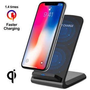 Charger-Pad Desktop QI Huawei P30 iPhone Xs Samsung Galaxy S10-Plus Wireless Glass 10W