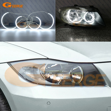 For BMW 3 Series E90 E91 2005 2006 2007 2008 Halogen headlight Excellent Ultra bright C-Shape Style CCFL Angel Eyes kit