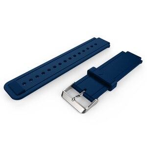 Image 5 - ZENHEO حزام (استيك) ساعة أسورة رياضية من السيليكون حزام الفرقة للغارمين Vivoactive خلات مربط الساعة الاكسسوارات