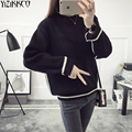 Women Sweater 2017 Spring New Fashion Knitted Pullovers High Quality Striped Sweaters O-Neck Pull Femme Sweter Mujer SZQ120