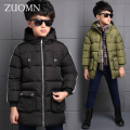 New Children's Jacket Child Winter Coats Boy Thick Enfant Garcon Winterjas Jongen Boys Parkas Down Coat Kids Outerwear Snow G232