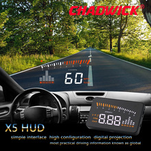 Original X5 HUD Head Up Display Car HUD Head Up Display Car Styling Speed Alarm OBD II Head up Display OBD2 Interface CHADWICK