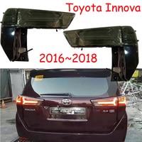 Стайлинга автомобилей задние фонари для Innova 2017 2018 2019 Led задние фонари противотуманная лампа задняя лампы DRL + тормоз парк сигнальные огни