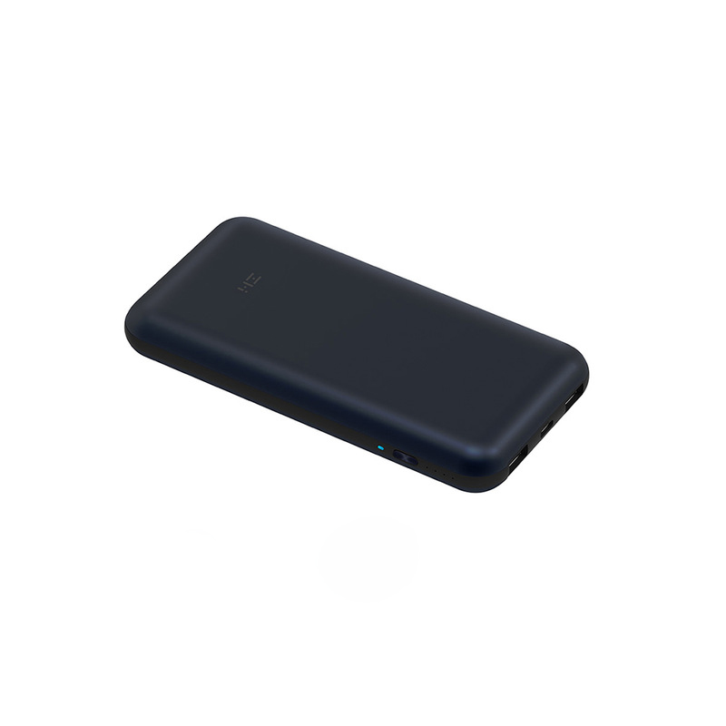 Original ZMI 10 NO. 15000mAh Banco de Potência Pro Carregador Rápido 3 USB Tipo C Bateria Powerbank