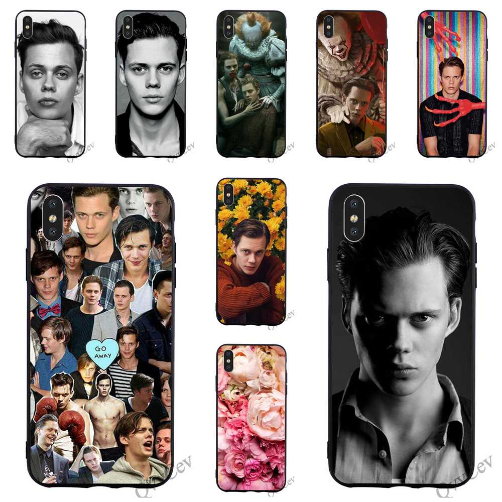 Fashion <font><b>Bill</b></font> <font><b>Skarsgard</b></font> Phone Cover for iPhone 5S Case XR X 7 5 8 Plus 6 6S SE Xs Max Covers image