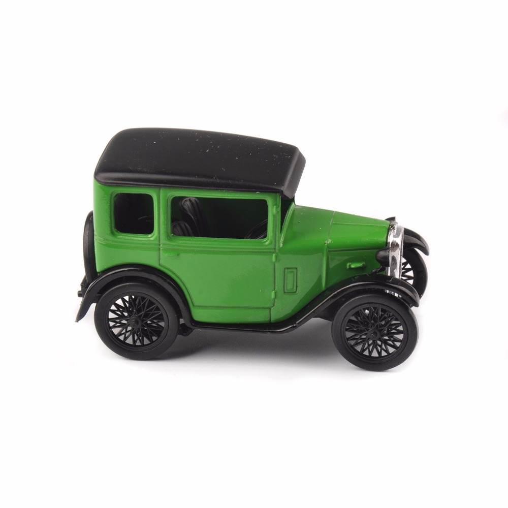 1/43 Scale Classic Car Models Oxford Austin Seven RN Saloon Westminster Diecast Vehicles Car Model Collection Toy