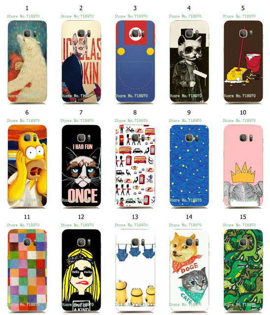 the latest 0e730 48aff US $1.99 |vcustom New Arrival Phone Case for Samsung Galaxy S7 edge Popular  Design Back Protective Plastic Case Cover on Aliexpress.com | Alibaba ...
