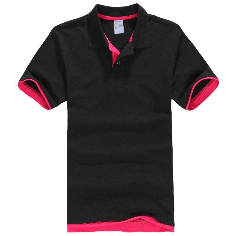New Fashion Mens Polo Shirt 2019 Summer Hot Casual Solid Men Polo Shirt Cotton Turn-Down Collar Women Polo Shirts