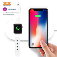 NEW Wireless Charger Wireless Pad For Iwatch Phone8 8 P X E Iwatch3 2 Samsung S6