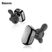 Baseus Bluetooth Earphone Wireless Headphone for Phone Mini In Ear Gaming Headset With Mic Handsfree fone de ouvido Bluetooth wireless fone de ouvido bluetooth handsfree headset earphone with mic in ear phone for iphone 4s for xiaomi