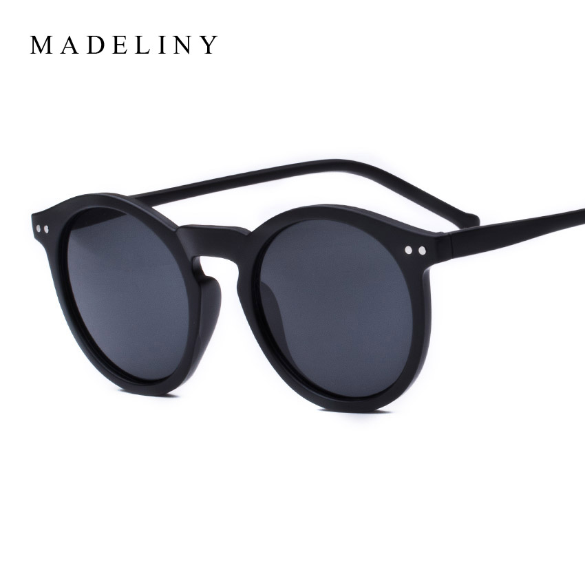 Brand Designer Ellipse Shape Multiple Color Reflective font b Sunglasses b font Women Vintage Keyhole Mirror
