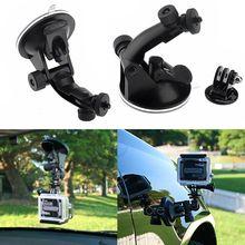 Лидер продаж удобный автомобильный держатель для штатива на присоске для камеры Gopro Hero 5 3+ 3 2 1 дешево